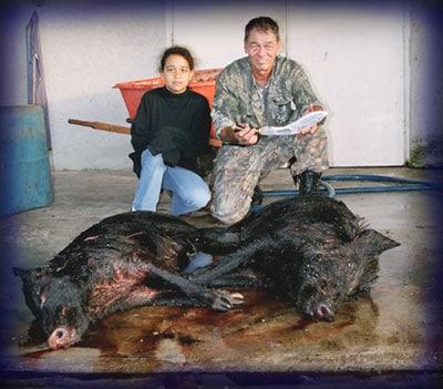 Wild Boar Hunt Report: January 2nd, 2006