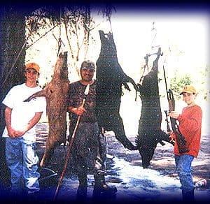 Wild Boar Hunt Report: April 4th, 2002