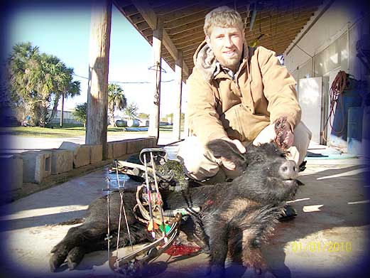 Wild Boar Hunt Report: January 2nd, 2010
