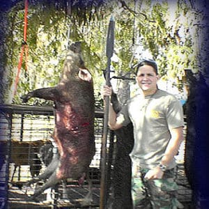 Wild Boar Hunt Report: January 7th, 2006