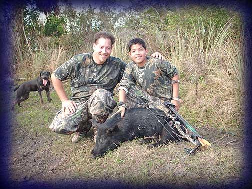 Wild Boar Hunt Report: January 13th, 2007