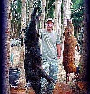 Wild Boar Hunt Report: May 19th, 2004