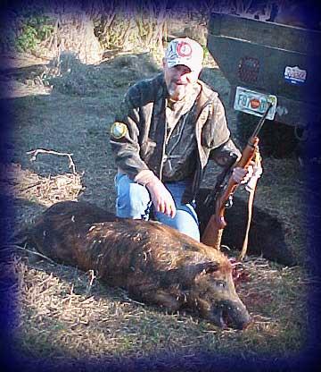 Wild Boar Hunt Report: January 29th, 2008